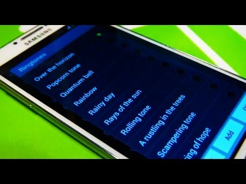 Samsung Galaxy S4 IV Tones / Ringtones
