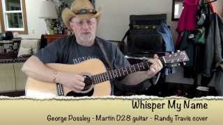 1484 -  Whisper My Name -  Randy Travis cover with guitar chords and lyrics