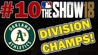 WE ARE DIVISION CHAMPS!! OAKLAND A