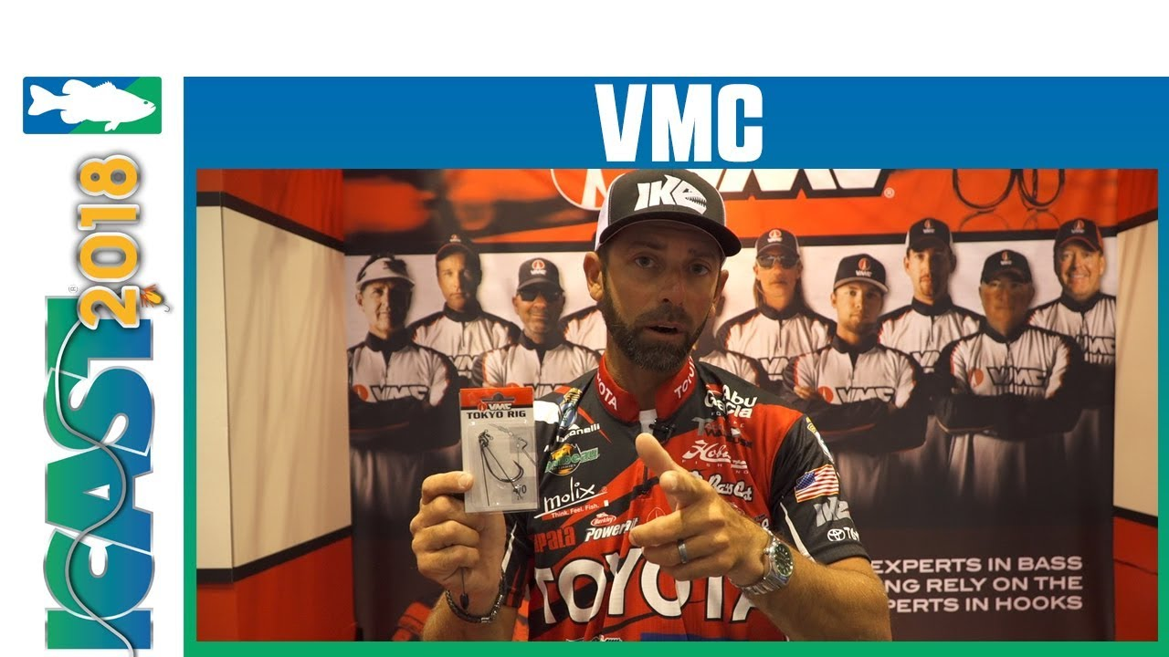 ICAST 2018 Videos - VMC Tokyo Rig with Mike Iaconelli