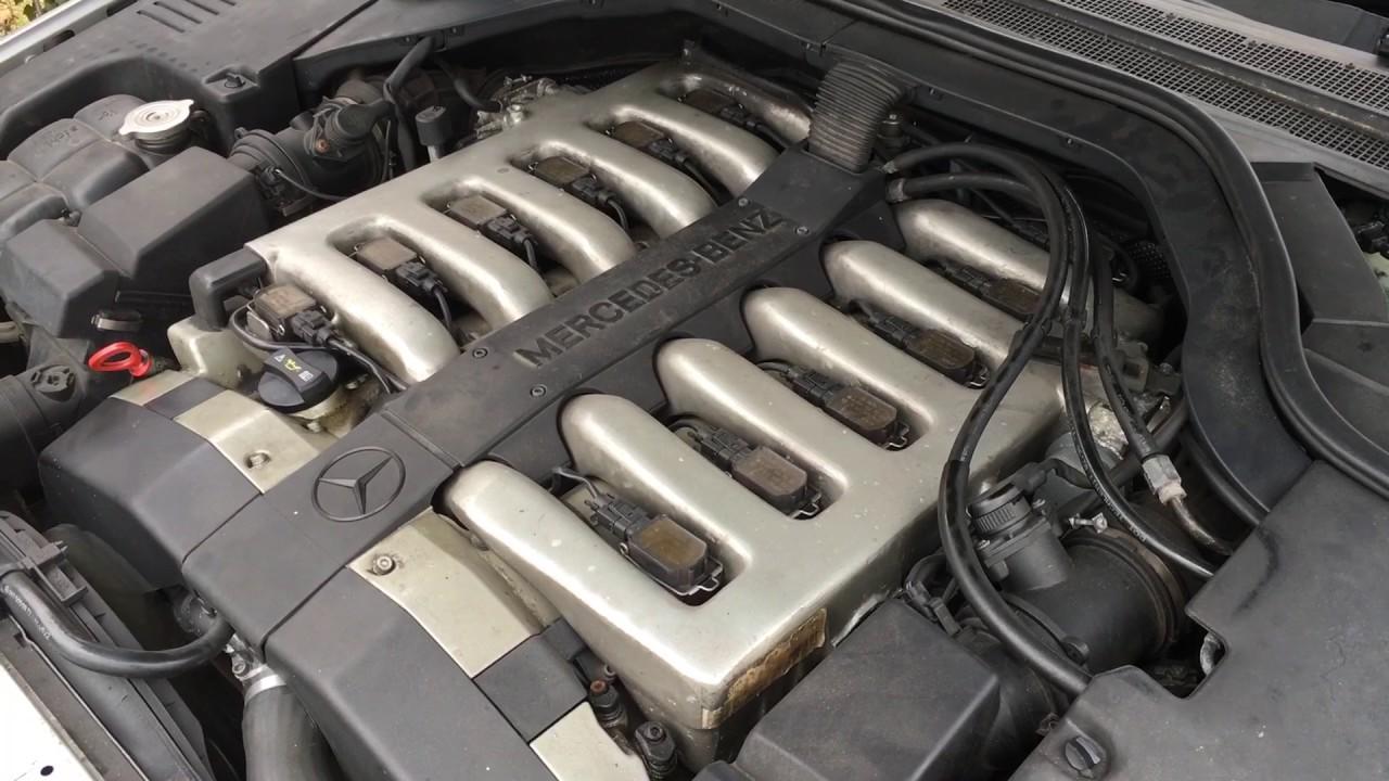 Mercedes benz w140 v12 cl600 engine youtube for Mercedes benz v 12 engine