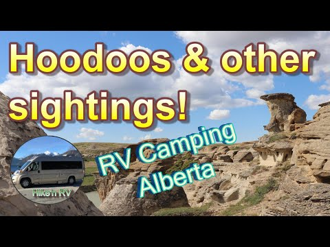 Finding Great RV Camping & Unique Sights In Southern Alberta!