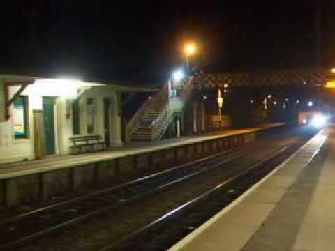 The Last Northbound Class 57 Hauled WAG Express Arrives at Flint
