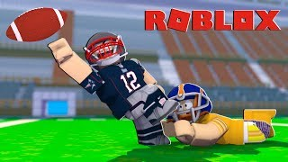 PATRIOTS VS BEARS HIGHLIGHTS! Roblox NFL Football! (Legendary Football)