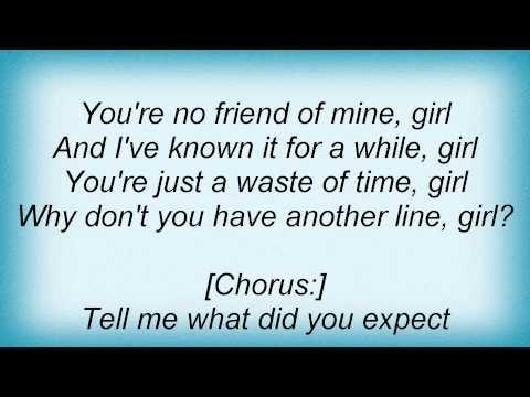 Lily Allen - Friend Of Mine Lyrics