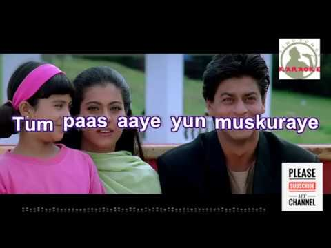 Tum Paas Aaye Yun Muskuraye Karaoke song for Male singers with Full lyrics