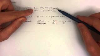 9 - Procent - Procentenheter