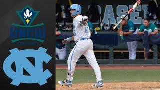 UNCW vs #14 North Carolina NCAA Baseball Regional | College Baseball Highlights