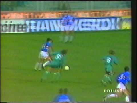 1991 March 20 Sampdoria Italy 2 Legia Warsaw Poland 2 Cup Winners Cup