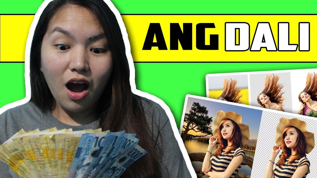 kumita ng $720/MONTH nagtatanggal lang ng background