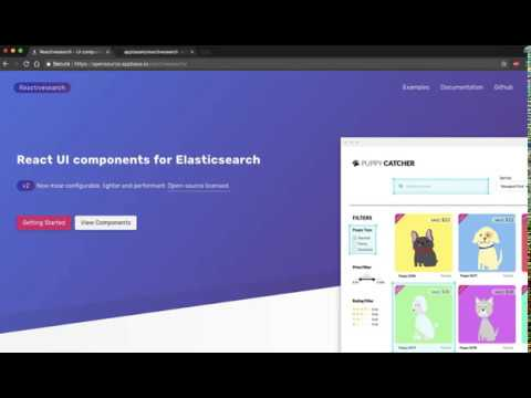 Write less code with Reactivesearch, a React UI components library