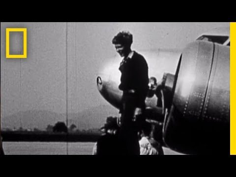 Never Before Seen Amelia Earhart Film Found | National Geographic
