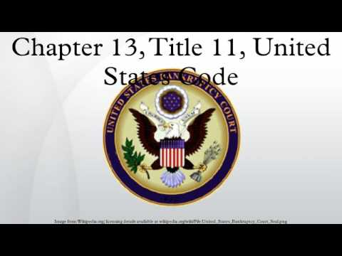 Chapter 13, Title 11, United States Code