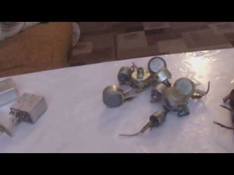 Содержание драгоценных металлов в радиодеталях часть 1