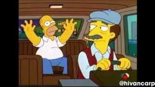 El Taxi - Los Simpsons