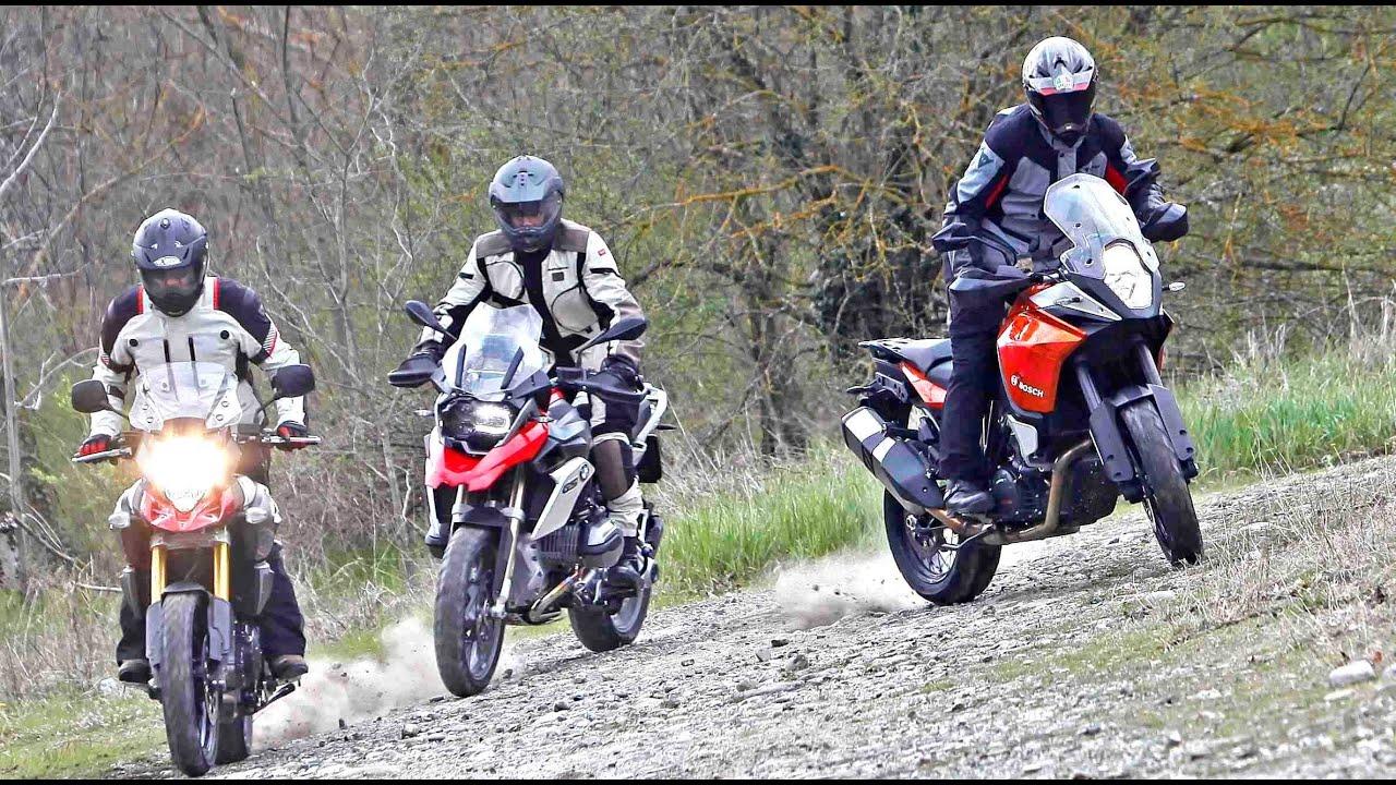 bmw r1200gs vs ktm 1190 adventure vs suzuki v-strom 1000 2014 moto