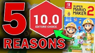 Top 5 Reasons Super Mario Maker 2 Will Be Even BETTER Than We …
