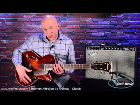 Eastman AR603ce-15 Archtop - Classic | N Stuff Music