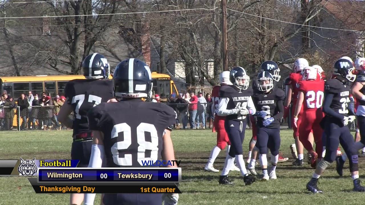 Whs Football Vs Tewksbury Thanksgiving 2017 Youtube