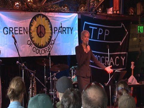 Jill Stein at the Mercury   Denver   August 2016