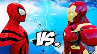 IRON MAN VS SCARLET WITCH AND HULK AND SPIDER MAN