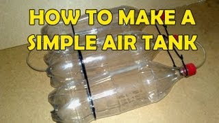 Repeat youtube video How to make a Coke Bottle Air Tank [Tutorial]