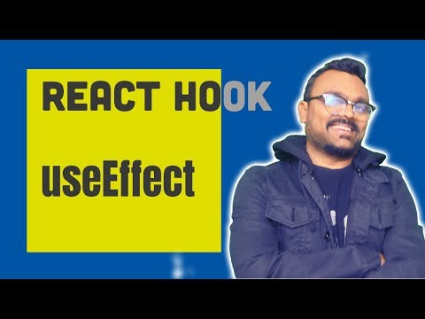 useEffect react hook tutorial thumbnail