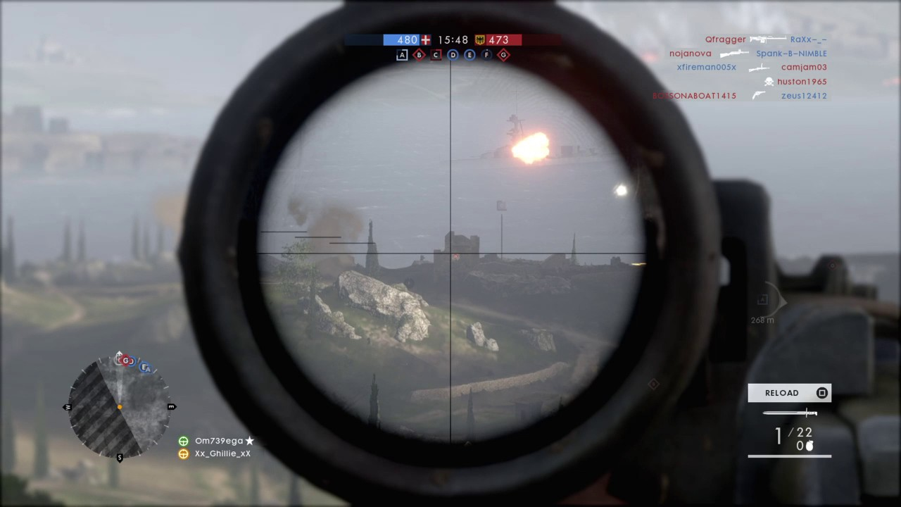 how to get better at sniping bf1