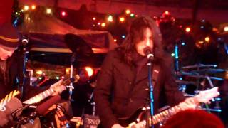 "STRYPER - ""Little Drummer Boy"" - Dec. 10, 2009 - Wall Street, NYC - NYSE Christmas Tree Lighting"
