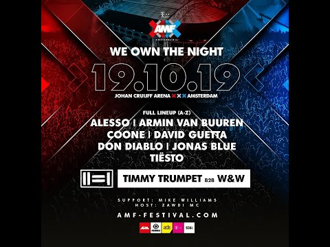 AMF 2019 - The full lineup is here!