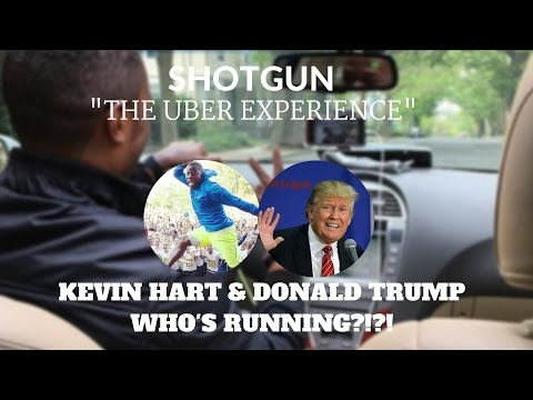 Shotgun!: Kevin Hart & Donald Trump, Who is Running?!?