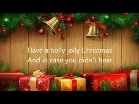 A Holly Jolly Christmas Lady Antebellum Lyrics