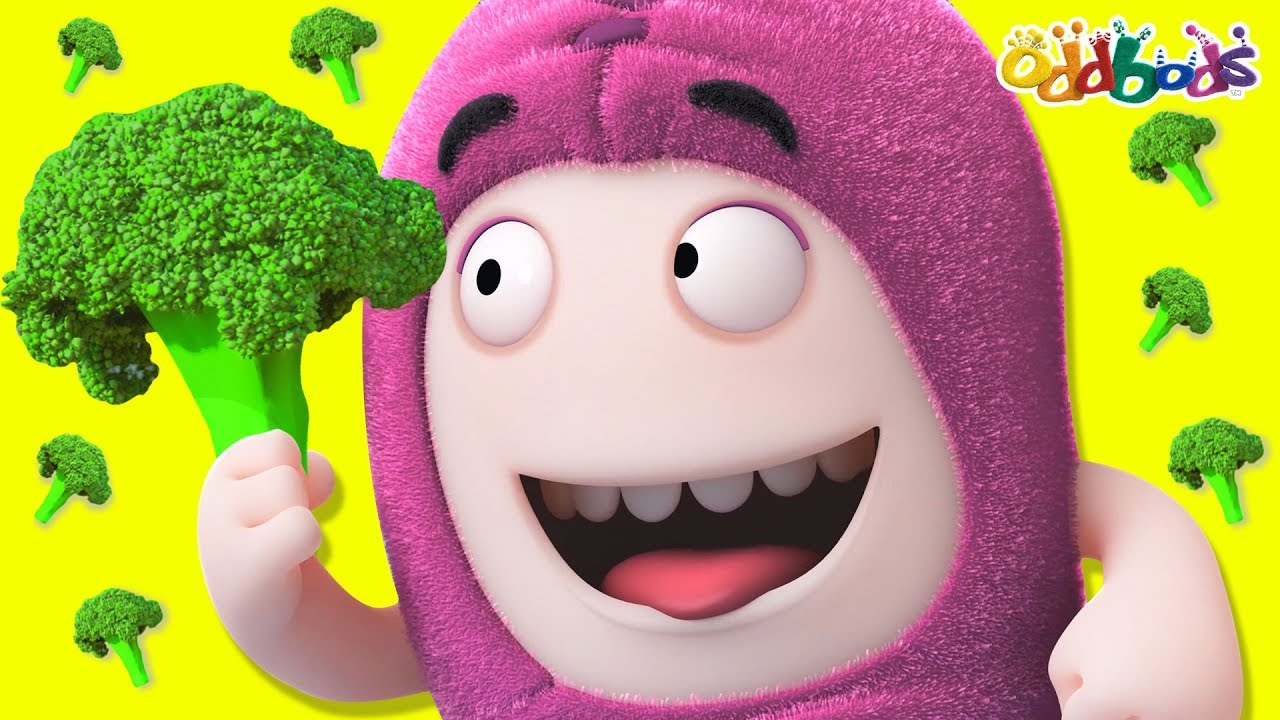 Oddbods | Eat Your Veggies | Funny Cartoons For Children