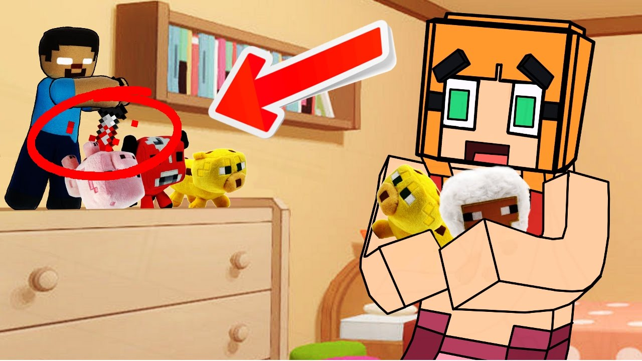 Cute animals mod - Minecraft Evil Stuffed Animals Attack Cute Animal Toy Mod