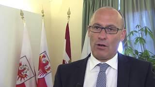 Intervista a Ugo Rossi sulla Giunta GECT a Sanzeno - 12.07.2017