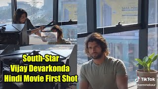 Vijay Devarkonda New Hindi Movie Fighter | First Shot | Dharma Productions