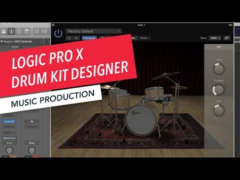 How to Use Drum Kit Designer | Logic Pro X Basics