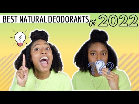 TOP 5 NATURAL DEODORANTS OF 2020 | Best Natural Deodorant for Women