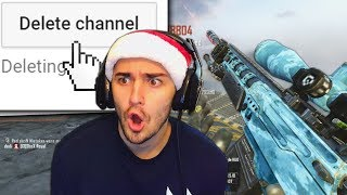 FAN DELETES HIS CHANNEL AFTER GETTING EXPOSED FOR AIMBOT TRICKSHOTS!! - (HILARIOUS REACTIONS!) 2017 Video