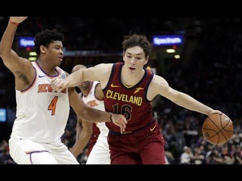 Cedi Osman CAREER-HIGH vs Knicks Full Highlights (18PTS 7REB 6AST) April 11, 2018