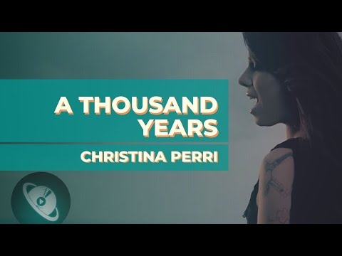 PARTITURA   A Thousand Years - Christina Perri Como tocar no Violino