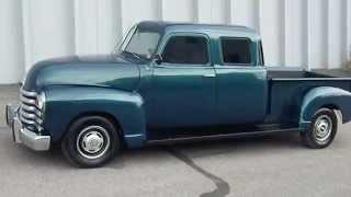 RARE Custom Built 1950 Chevrolet Double Cab Pickup Truck