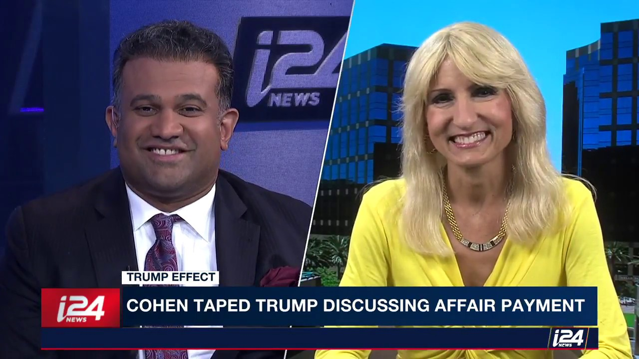 i24 News: Will the Seized Michael Cohen Tapes be the End of Trump?