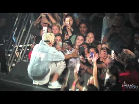 Justin Bieber   'Confident' w  Chance the Rapper Live at Staples Center Purpose Tour