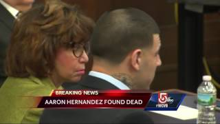 Aaron Hernandez found dead in prison cell