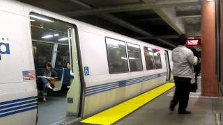 BART Colma Station California Bay Area Rapid Transit