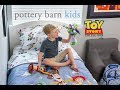 The Toy Story Bedding, Backpacks & More from Pottery Barn Kids is soft, snuggly and fun –Our review