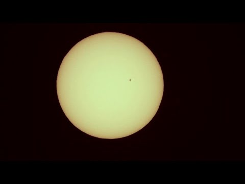 Sunspots seen in Spain as geomagnetic storm expected