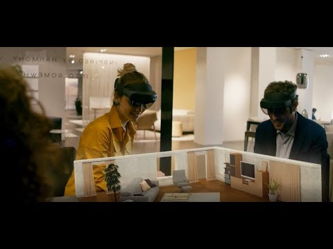 Natuzzi crafts amazing customer experiences with HoloLens 2 and mixed reality