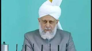 Friday Sermon: 8th May 2009 - Part 2 (Urdu)